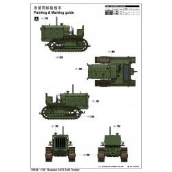 """PL10128-10 Pneus - 1/10 Crawler - montés - jantes Impulse noires - 1.9"""" - Hyrax G8 (2 pces)"""