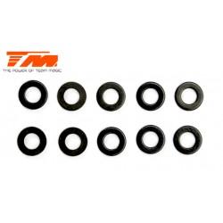 TM130122 Rondelles - 3 x 6 x 0.5mm (10 pces)
