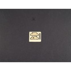"""PL8271-02 Pneus - 1/10 Buggy - 2WD Avant - 2.2"""" - Slide Job M3 (soft) (2 pces)"""