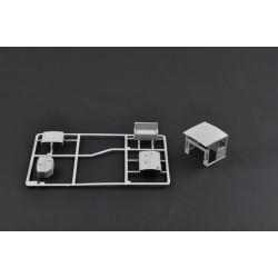 DUB-105 Pièces et accessoires d'aéronefs - Cornes de contrôle en nylon 1 gauche et 1 droite (2 pièces par paquet)