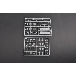 """DUB-200ML Aircrafts Parts & Accessories - 2"""" Micro Lite Wheels (1 pair per card) 50.8 mm"""