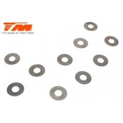 TM130129 Rondelles - 5.2 x 12 x 0.2 (10 pces)