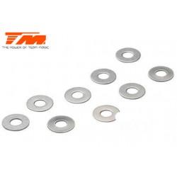 TM130130 Rondelles - 2.6 x 6 x 0.3mm (10 pces)