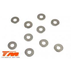 TM130134 Rondelles - 4.2 x 9.6 x 0.7mm (10 pces)