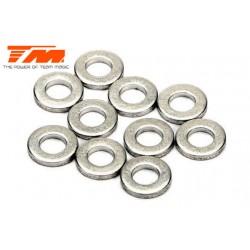 TM130138 Rondelles - 3.5 x 7 x 1mm (10 pces)