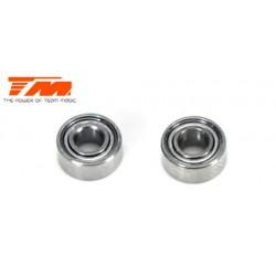 TM150307 Roulements à billes - métrique - 3x 7x3mm (2 Pces)