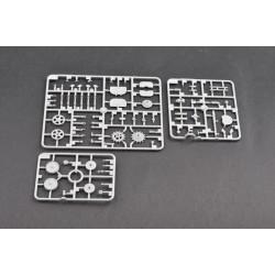 HRC5042BK2 Velcro - Autocollant - 20x1000mm - 3M - Noir (1 paire)