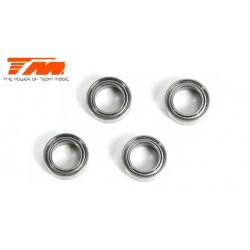 TM150407ST Roulements à billes - métrique - 4x 7x2.5mm (4 pces)