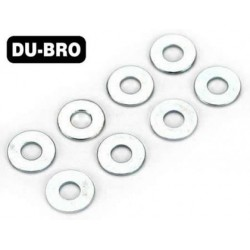 DUB2110 Washers - 4mm Flat Washers (8 pcs per package)