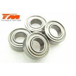 TM150612 Roulements à billes - métrique - 6x12x4mm (4 pces)