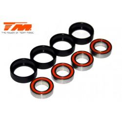 TM150816C Roulements à billes - métrique - 8x16x5mm Composite (4 pces)