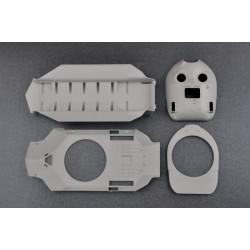 PL9064-033 Pneus - 1/8 Buggy - montés - Jantes V2 Blanc - 17mm Hex - Slide Lock X3 (soft) (2 pces)