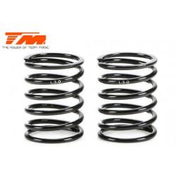 TM153010-L3.0 Ressorts d'amortisseurs - 1/10 Touring - PRO Linear - 14x22.5x1.5mm – L3.0