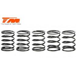 TM153020 Ressorts d'amortisseurs - 1/10 Touring - PRO Progressive Set - 14x22.5x1.4mm (5 paires)