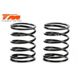 TM153020-P2.5 Ressorts d'amortisseurs - 1/10 Touring - PRO Progressive - 14x22.5x1.4mm – P2.5