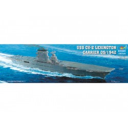 TRU05608 TRUMPETER US Lexington CV-2 1/350