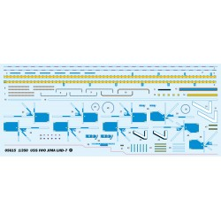 OR-25-051-010 Oracover - Orastick - Blue Fluorescent ( Length : Roll 10m , Width : 60cm )