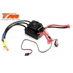 TM191008 Variateur électronique - Brushless - Thor - WP-8100 - Etanche - 100A - 11.1V~14.8V (3S~4S)