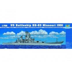 TRU05705 TRUMPETER BB-63 Missouri 1991 1/700