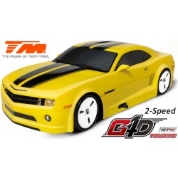 TM502091A-CMR Auto - 1/10 Nitro - 4WD Touring - RTR - Tirette - 2 Vitesses - Team Magic G4D TC CMR