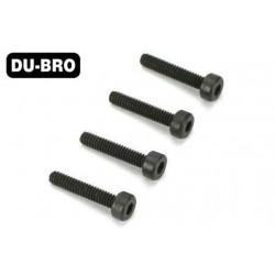DUB2111 Screws - 2mm x 4 Socket Head Cap Screws (4 pcs per package)