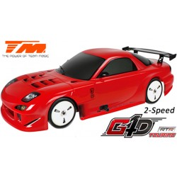 TM502091A-RX7 Auto - 1/10 Nitro - 4WD Touring - RTR - Tirette - 2 Vitesses - Team Magic G4D TC RX7