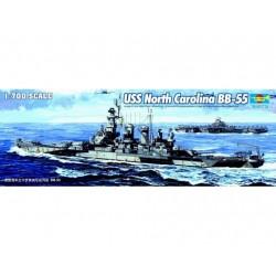 TRU05734 TRUMPETER USS BB-55 Carolina 1/700