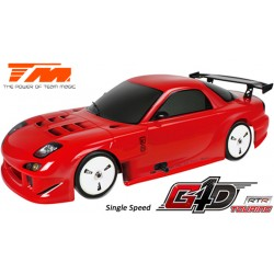 TM502091C-RX7 Auto - 1/10 Nitro - 4WD Touring - RTR - Tirette - 1 Vitesse - Team Magic G4D TC RX7