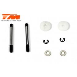 TM502130 Pièce détachée - G4JS/JR/D - Tiges et piston d'amortisseurs Set (2 pces)