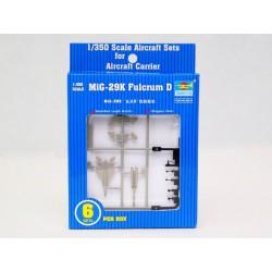 TRU06216 TRUMPETER 6x MIG-29K Fulcrum 1/350
