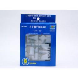 TRU06220 TRUMPETER 6x F-14 TOMCAT 1/350