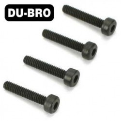 DUB2112 Screws - 2mm x 6 Socket Head Cap Screws (4 pcs per package)