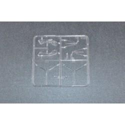 Set d'éclairage - 1/10 TC/Drift - LED - Prise JR - Gyrophare de toit V2 - Rouge