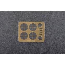 HRC9240KB Prolongateur de servo - Mâle/Femelle - JR type - 10cm Long - Noir/Noir/Noir - BULK 10 pces