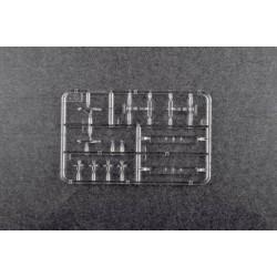 HRC9242K Prolongateur de servo - Mâle/Femelle - JR type - 30cm Long - Noir/Noir/Noir