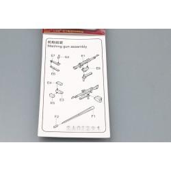 TRU06614 TRUMPETER M242 + M240 7.62 1/35