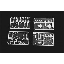 TA095-08 Set de rondelles M8 T-Work's (10x4tailles)