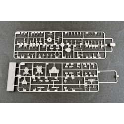 HRC34Y4045K FPV Racing Propellers - 3-blades - Nylon Fiber - 4045 Type - ID M5 / 7mm Hub - 1x CW + 1x CCW - Black