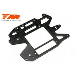 TM502331 Pièce détachée - G4RS - Platine supérieure carbone
