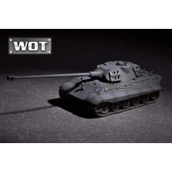 TRU07161 TRUMPETER King Tiger & 105mm kwHl68 1/72