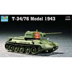 TRU07208 TRUMPETER T-34/76 Mod. 43 1/72