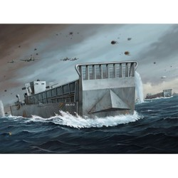 TRU07213 TRUMPETER WWII US Navy LCM(3) 1/72