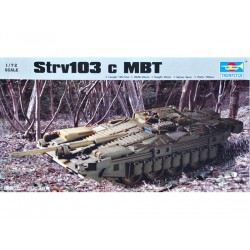 TRU07220 TRUMPETER Strv 103 c Swed.Tank 1/72