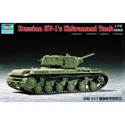 TRU07230 TRUMPETER Russian KV-2 Tank 1/72