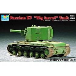 TRU07236 TRUMPETER KV-2 Big Turret Tank 1/72