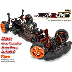 TM503015 Auto - 1/10 Electrique - 4WD Drift - ARR - Compétition - Team Magic E4D-MF Pro avec Counter Steer