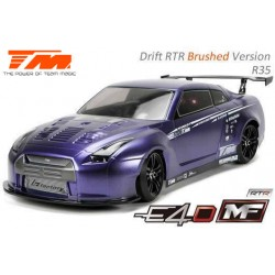 TM503017-R35 Auto - 1/10 Electrique - 4WD Drift - RTR - Team Magic E4D-MF – R35