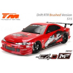 TM503017-S15 Auto - 1/10 Electrique - 4WD Drift - RTR - Team Magic E4D-MF – S15