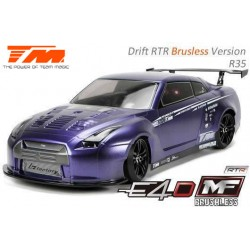 TM503018-R35 Auto - 1/10 Electrique - 4WD Drift - RTR - Brushless - Team Magic E4D-MF – R35