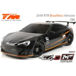 TM503018-T86 Auto - 1/10 Electrique - 4WD Drift - RTR - Brushless - Team Magic E4D-MF – T86